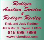 Rediger Rick & Judy Auctioneer & Real Estate